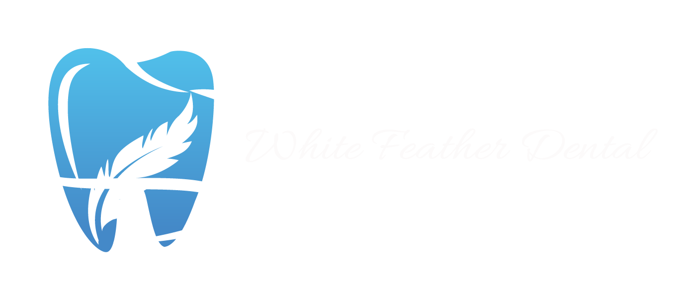 white feather dental